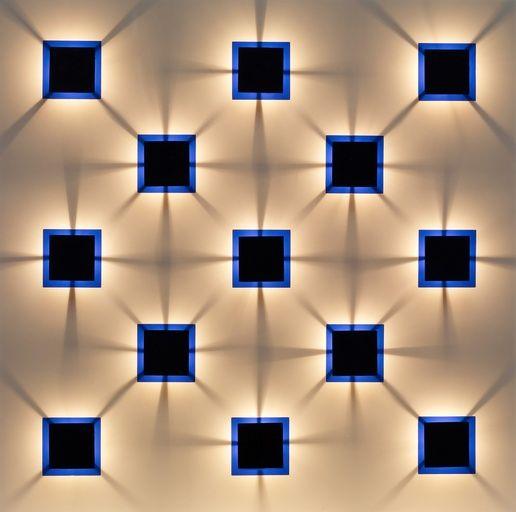 Paddle8: Graphisme d'Ombres Bleu - Gregorio Vardanega