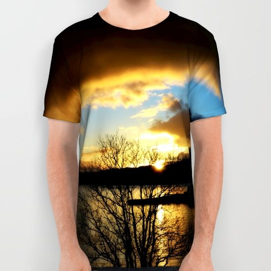 Buy Sunset in Scotland All Over Print Shirt by haroulita!!. Worldwide shipping available at Society6.com. Just one of millions of high quality products available.