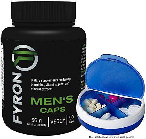 fyron Mens–Fertilité | Testostérone Miroir | sperme + pilules Boîte: & # x1F497, contribue à une fertilité normale & # x1F3e9; & # x1…