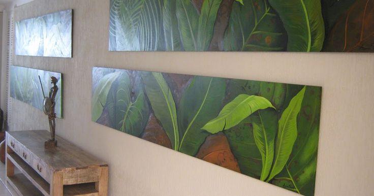 este painel é composto de quatro peças medindo cada uma 0.55 x 2.77 e está localizado no hall de estar dos hóspedes do Hotel Don Quijo...