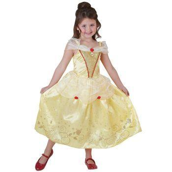 Prenses Belle Çocuk Kostüm 5-6 Yaş Royale