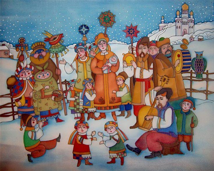 kolyada Google Search Ukrainian art, Ukrainian