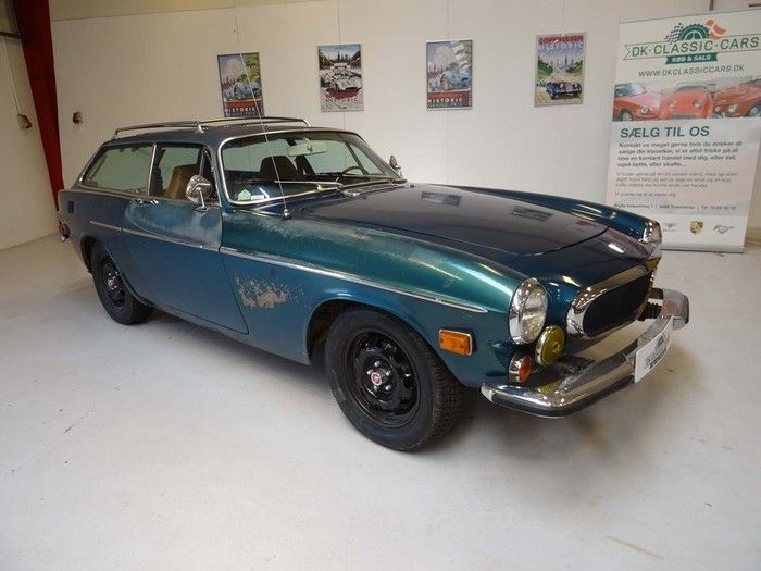 1973 Volvo 1800 ES, original unrestored car  Car specifications:  Odometer:  51500 miles  Chassis Number: 1836363-0003429  Engine: B20 with correct Bosch electronic fuel injection  Transmission: Automatic  Drive: Left-hand drive  Brakes: Model correct four-wheel disc brakes  Upholstery: Brown  Paint: Original Sea Green (factory color code 115 only offered 1973)  - K207