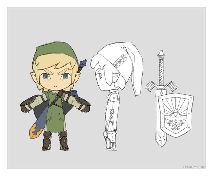Chibi Link by martyisnothere.deviantart.com on @deviantART