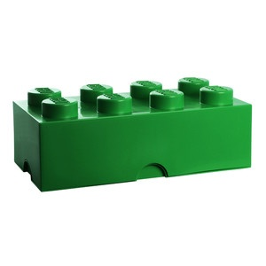 LEGO Storage Brick 8 Green, 30€, now featured on Fab.
