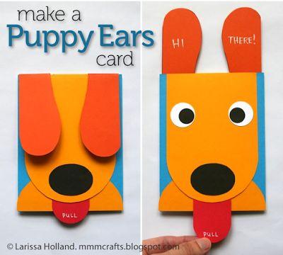 the Cutest Handmade Card Ever | http://kolchakpuggle.com/2014/06/cutest-handmade-card-ever.html