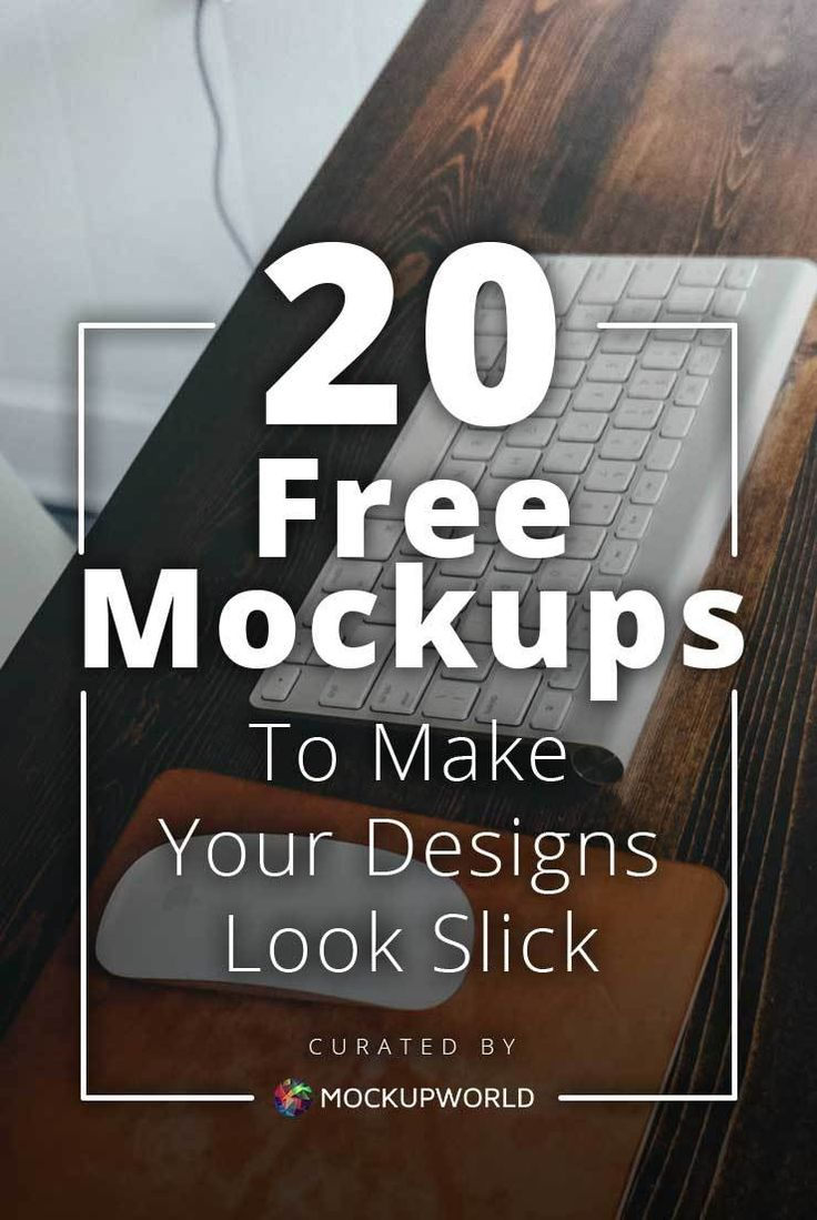 Need Your Brand to Look More Professional? These 20 Free Design Mockups Should Do the Trick