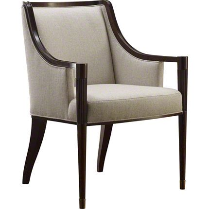 Baker Furniture : Signature Dining Arm Chair - 3645 : Chairs : Barbara Barry : Browse Products