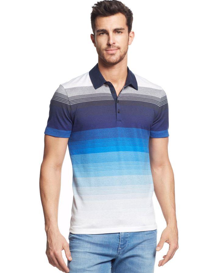 Boss Hugo Boss Arpino Slim-Fit Striped Polo Shirt