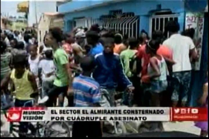 ¡IMÁGENES FUERTES! Sector El Almirante Consternado Por Multiple Asesinato