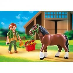 PLAYMOBIL SHIRE HORSE