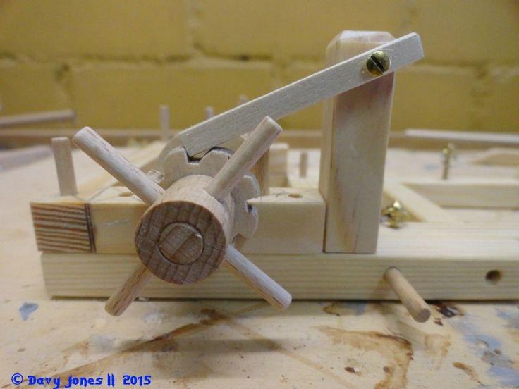 Im Bau: Spielzeug-Burg aus Holz im M 1:23 / 25 (Scratchbau aus Holz) - Seite 6 - Bauberichte - Das Wettringer Modellbauforum