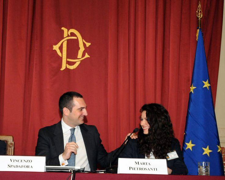 La studentessa Marta Pietrosanti ha portato la voce degli adolescenti al Parlamento.