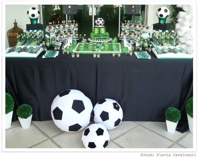 Mesa de Festa tema Futebol