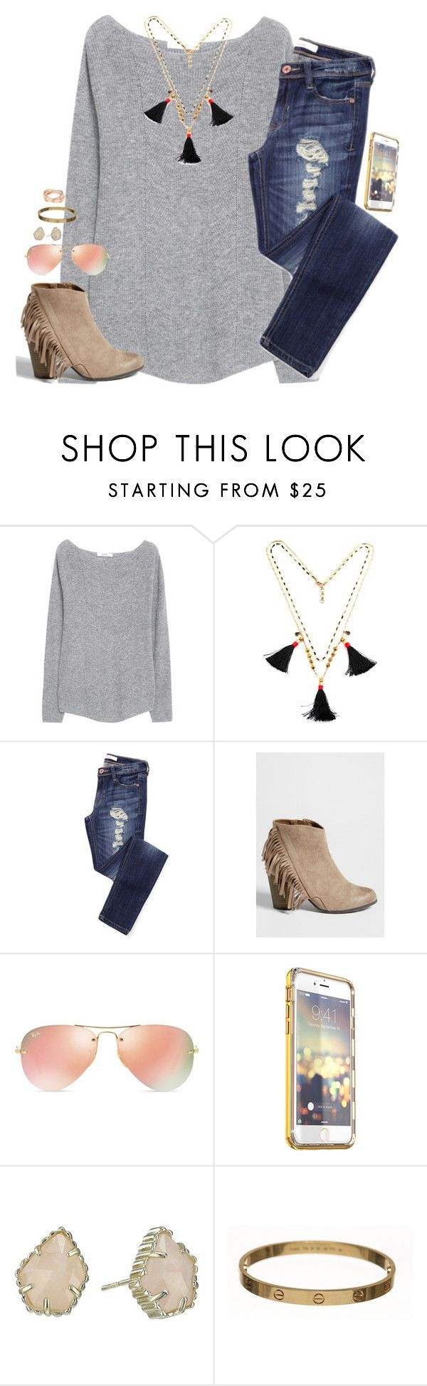"""""have you prayed about it as much as you've talked about it?"" -Matthew 21:22"" by kaley-ii ❤ liked on Polyvore featuring MANGO, maurices, Ray-Ban, Kendra Scott and Cartier"