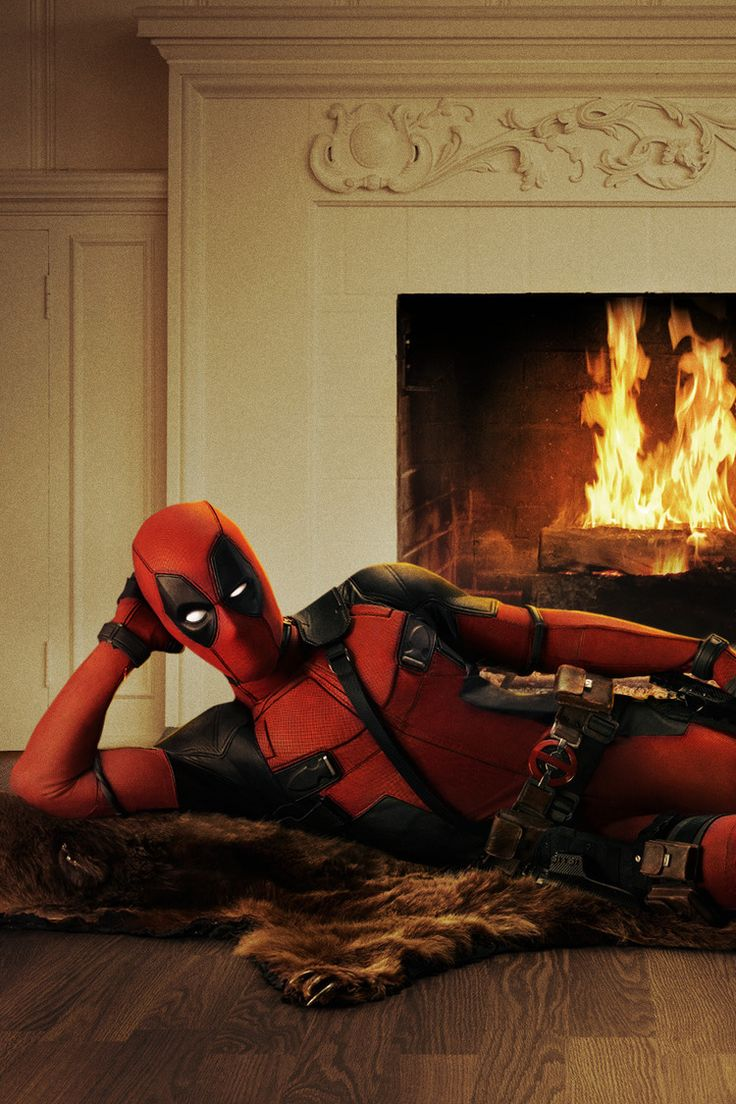 Deadpool has arrived — well, a picture of him, anyway. Star Ryan Reynolds debuted the first look at Marvel's antihero via Twitter on Friday.