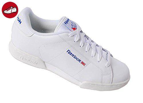 REEBOK Men NPC II Sneaker Herren Freizeit Fitness Sport Turn Schuh weiß 41 - Reebok schuhe (*Partner-Link)