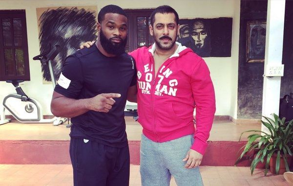 """Mixed martial arts (MMA) fighter and actor Tyron Woodley, who fought against Salman Khan's character in """"Sultan"""", has thanked the Bollywood superstar for a """"top notch"""" time he had during his stay in India. Woodley expressed his appreciation for Salman on Twitter on Sunday. """"SK!... https://indytags.com/salman-khans-sultan-opponent-tyron-woodley-thanks-the-actor-for-top-notch-time-in-india/"""