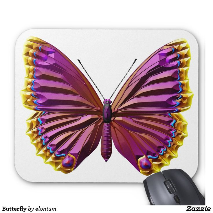 Butterfly Mouse Pad #butterfly #insect #wildlife