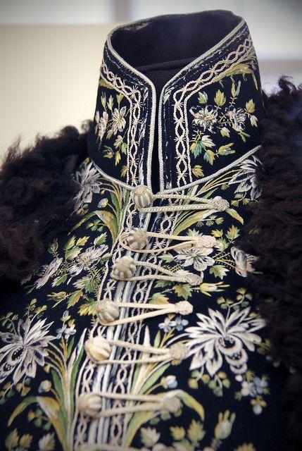 Detail - A man's dress, Hungary, 1770-80 | Flickr - Photo Sharing!