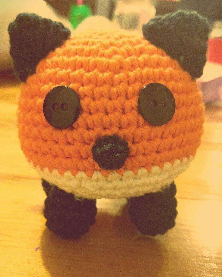 YES! #fox #amigurumi #crochet #amigurumifox by lindsey.wallace