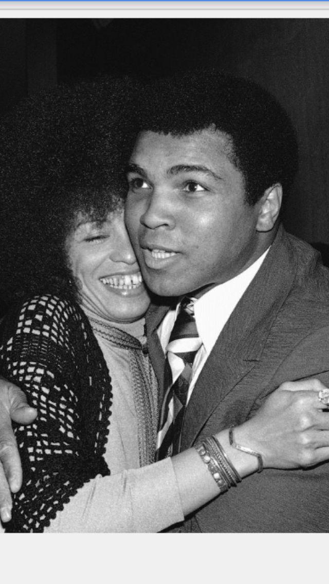 Muhammad Ali and Angela Davis