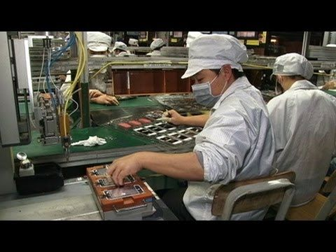 #3: Creating the Technology. An inside look at an iPhone factory in China.