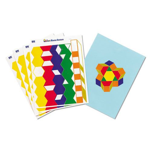 Image result for pattern block stickers
