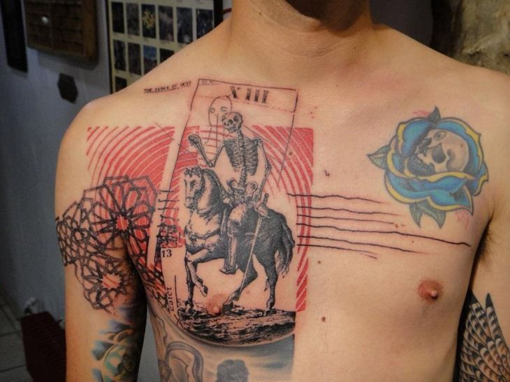 Cool Tattoo Design for Men by Xoil