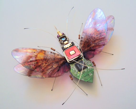 Hey, I found this really awesome Etsy listing at https://www.etsy.com/listing/459608040/the-giant-queen-ant-winged-circuit-board