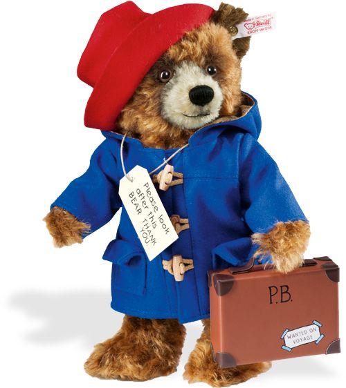 Steiff  Paddington Bear, by Steiff teddy bears