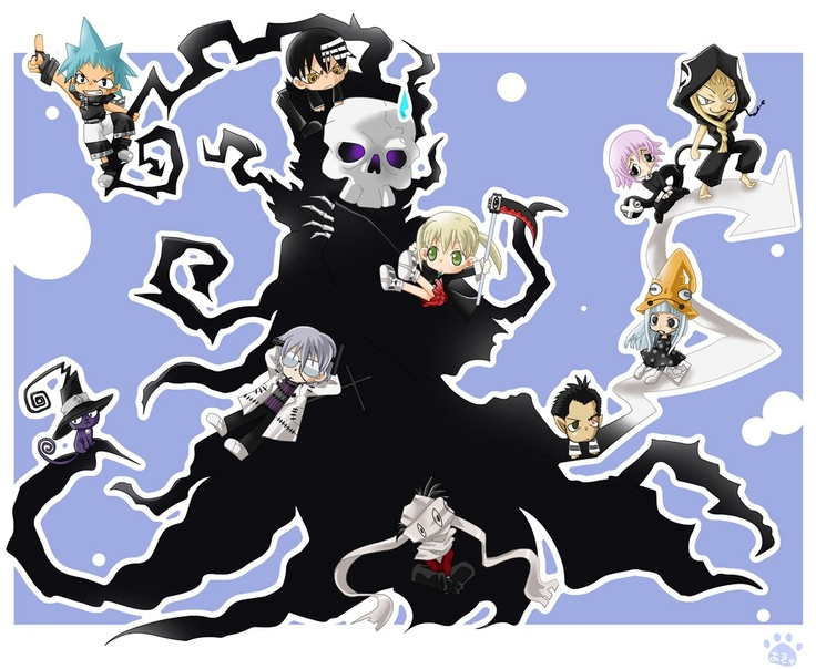Soul Eater - Characters in Chibi | Anime freak | Pinterest