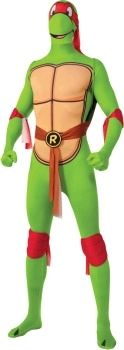 Teenage Mutant Ninja Turtles Raphael 2nd Skin Suit. Large range of TMNT costumes available online.    Delivery is Australia wide.