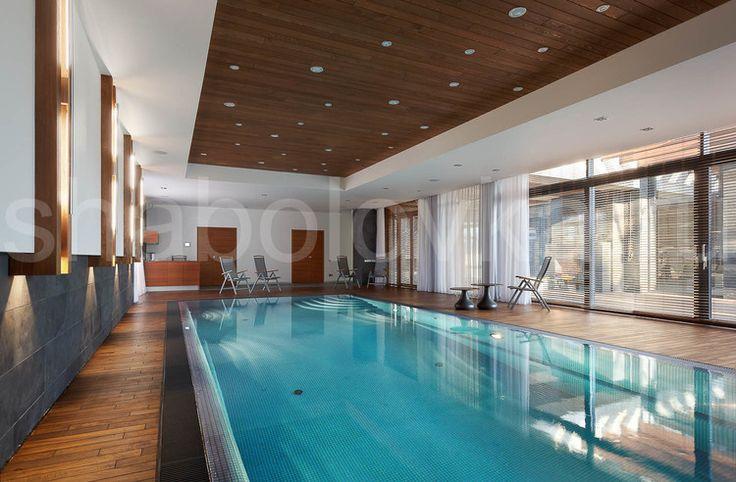 бассейн - современный стиль, минимализм, contemporary house, swiming pool
