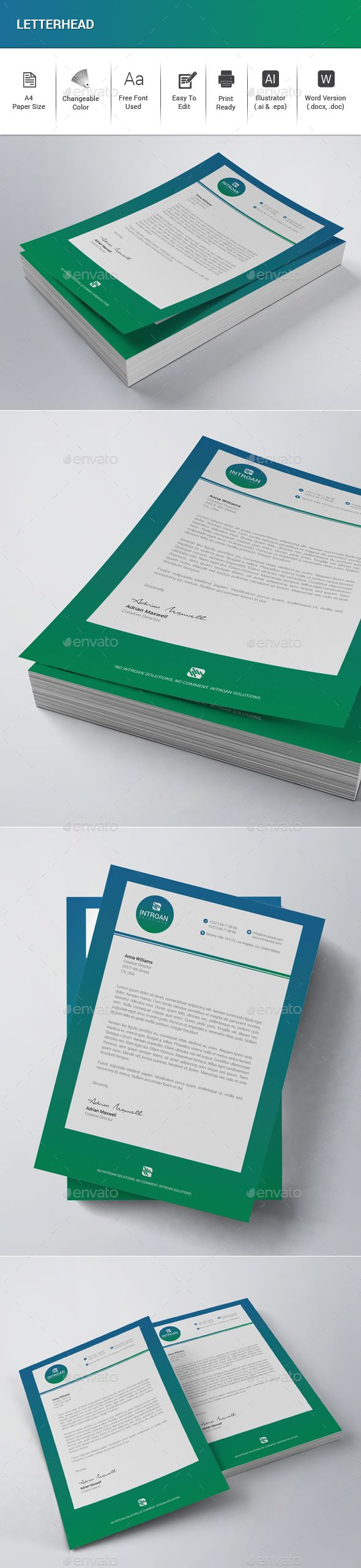 Business Letter Templates Free Download%0A Letterhead