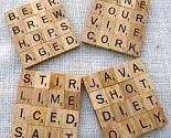 Cute Coaster Idea!: Diy Crafts, Gift Ideas, Scrabble Coasters, Scrabble Tiles, Diy Project, Drink Coaster, Tile Coasters, Craft Ideas
