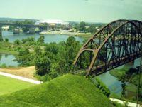 Little Rock Old Main Bridge - Amanda Galiano