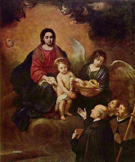 Ο Χριστός βρέφος προσφέρει ψωμί (1678) Μουσείο Καλών Τεχνών Βουδαπέστης