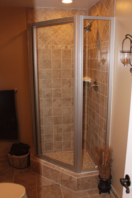 17 best ideas about small basement bathroom on pinterest for Finished bathroom ideas
