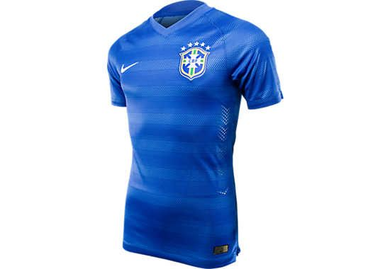 Nike Brazil Away Match Jersey - 2014 World Cup...Available at SoccerPro now.