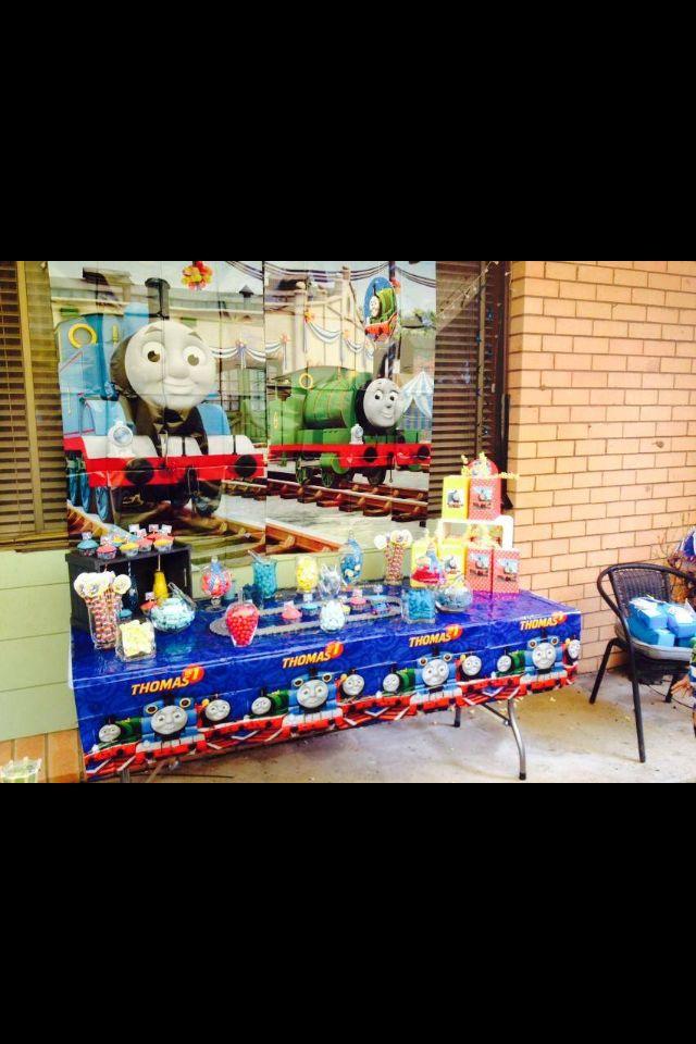 Thomas tank engine candy buffet