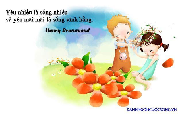 Yêu nhiều là sống nhiều, và yêu mãi mãi là sống vĩnh hằng