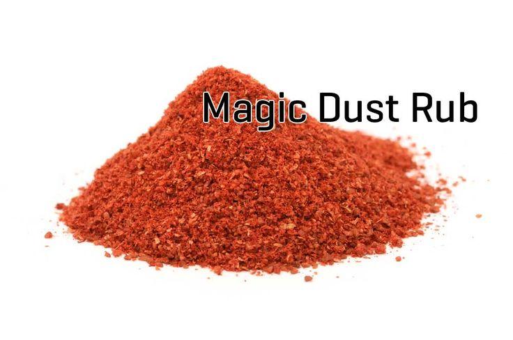 Magic Dust Rub selber machen! Wir zeigen euch, wie Ihr den Magic Dust Rub mit diesen Zutaten einfach selber machen könnt. Die Gewürzmischung für Spare Ribs!