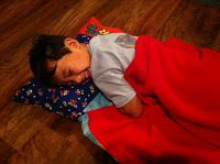 Ms. Nancy's Nook : Deluxe Kinder Mat Cover with Attached Blanket & Pillow DIY
