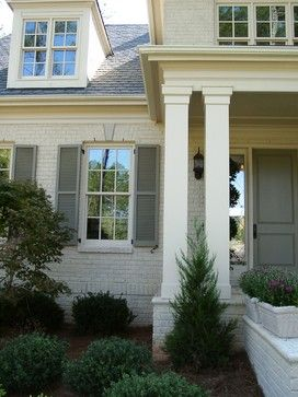 17 best images about exterior columns on pinterest for Exterior decorative columns