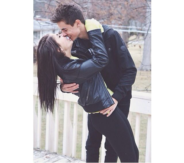 I want a relationship like Kian and Andrea <3