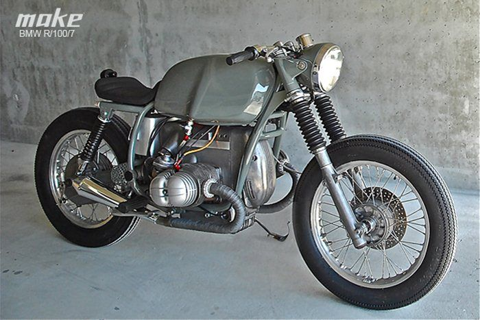 Love the industrial color.: Cafe Motorbikes, Bmw R1007, R1007 Cafe, Motorcycles Helmets, Motorbikes Galleries, Bmw Cafe, Bmw Motorcycles, Bmw Café, Cafe Racers
