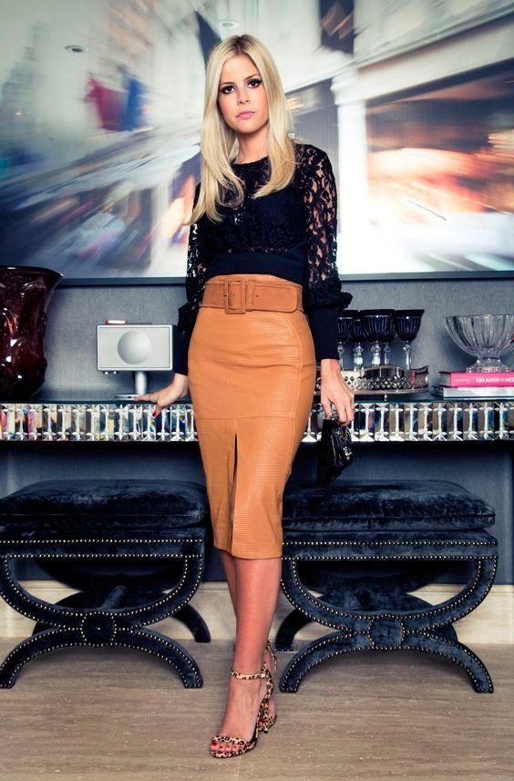 Como usar saia lápis em diversas ocasiões. | Fashion, Pencil skirt outfits, Outfits