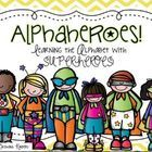 This pack is a whopping 300 pages of alphabet learning fun! Kids love superheroes, so here is their chance to become an AlphaHero!  There are 10 di...