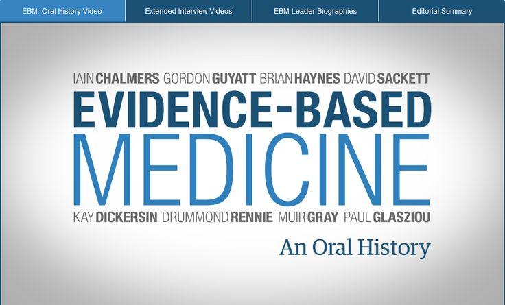 What is Evidence-Based Medicine? - Evidence Based Medicine - Research Guides at George Washington University